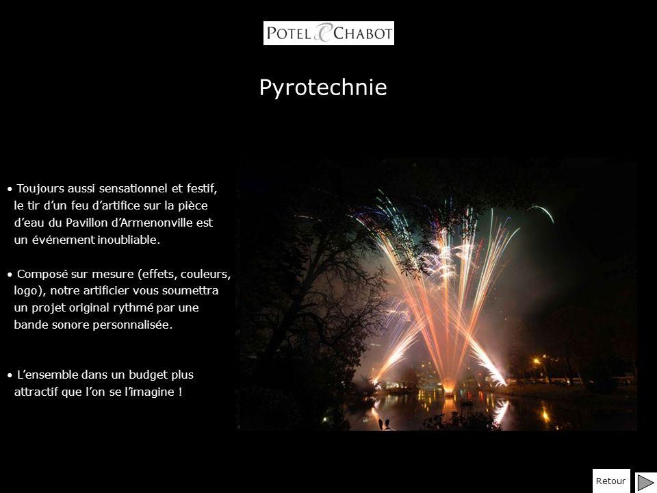 Pyrotechnie Toujours aussi sensationnel et festif,