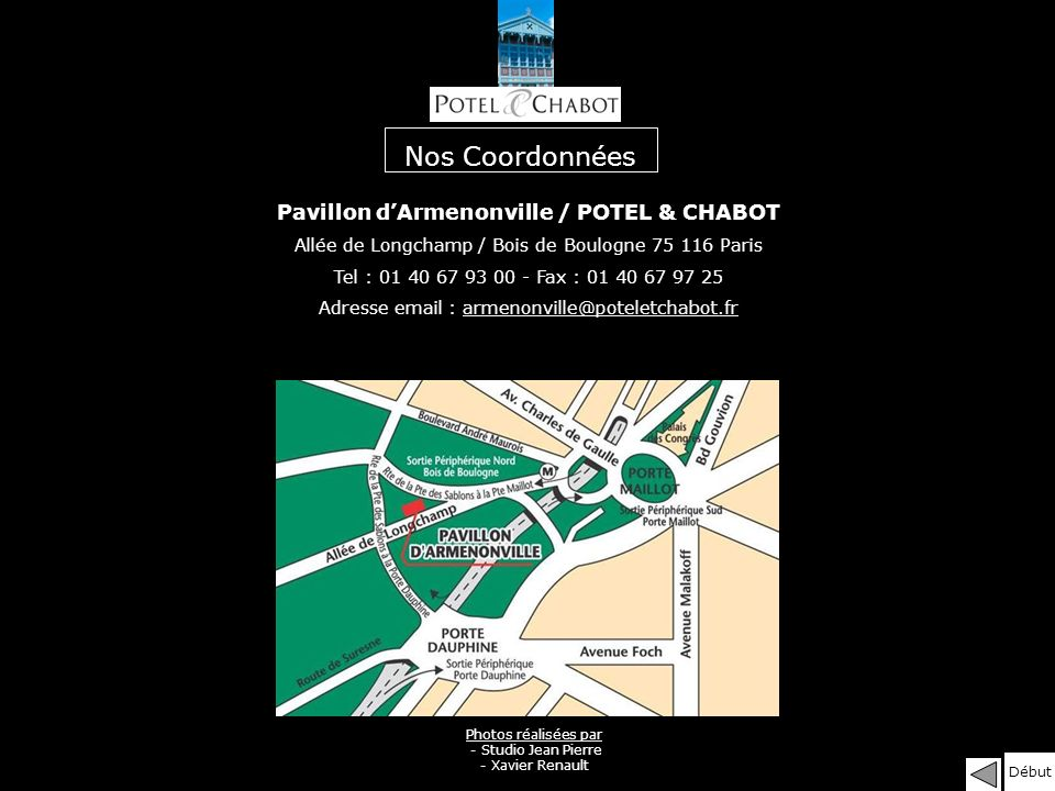 Pavillon d'Armenonville / POTEL & CHABOT