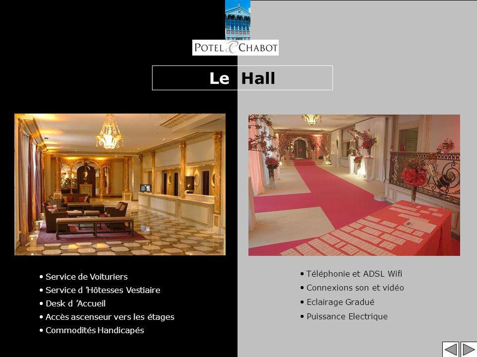 Le Hall Téléphonie et ADSL Wifi Service de Voituriers
