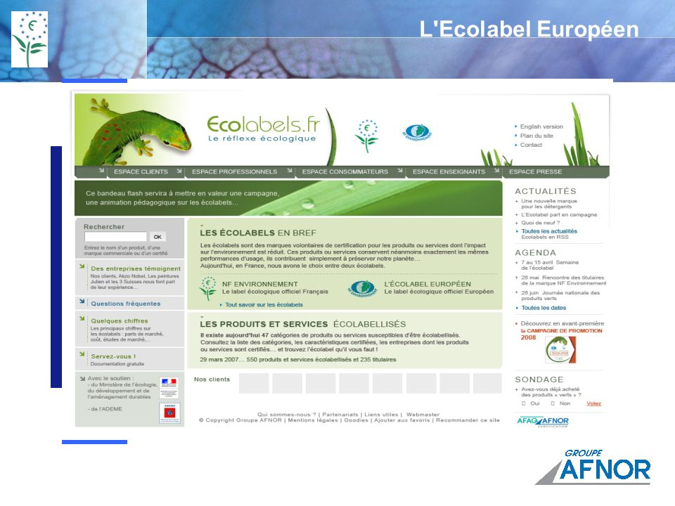 L Ecolabel Européen Explain. next