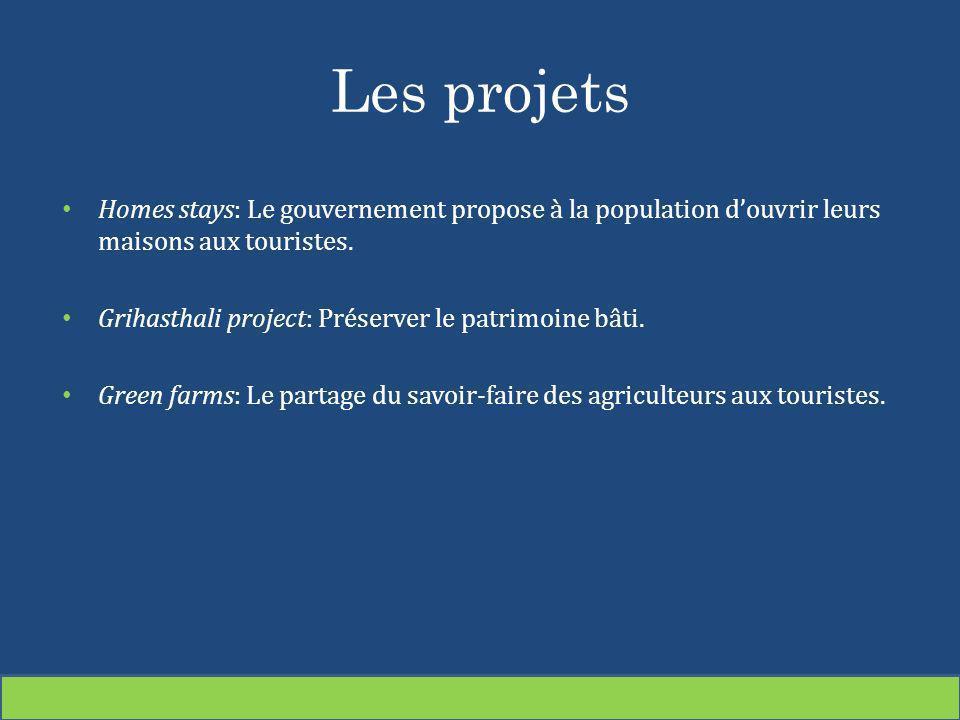 Les projets Homes stays: Le gouvernement propose à la population d'ouvrir leurs maisons aux touristes.