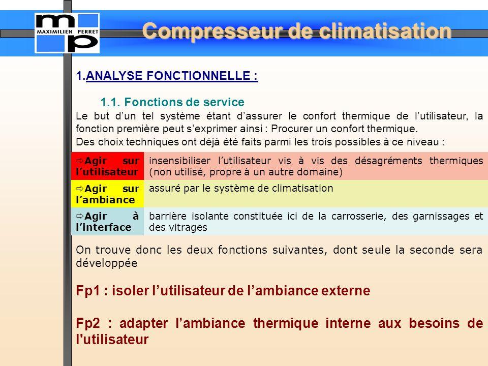 Fp1 : isoler l'utilisateur de l'ambiance externe