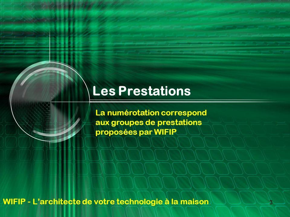 WIFIP - L'architecte de votre technologie à la maison