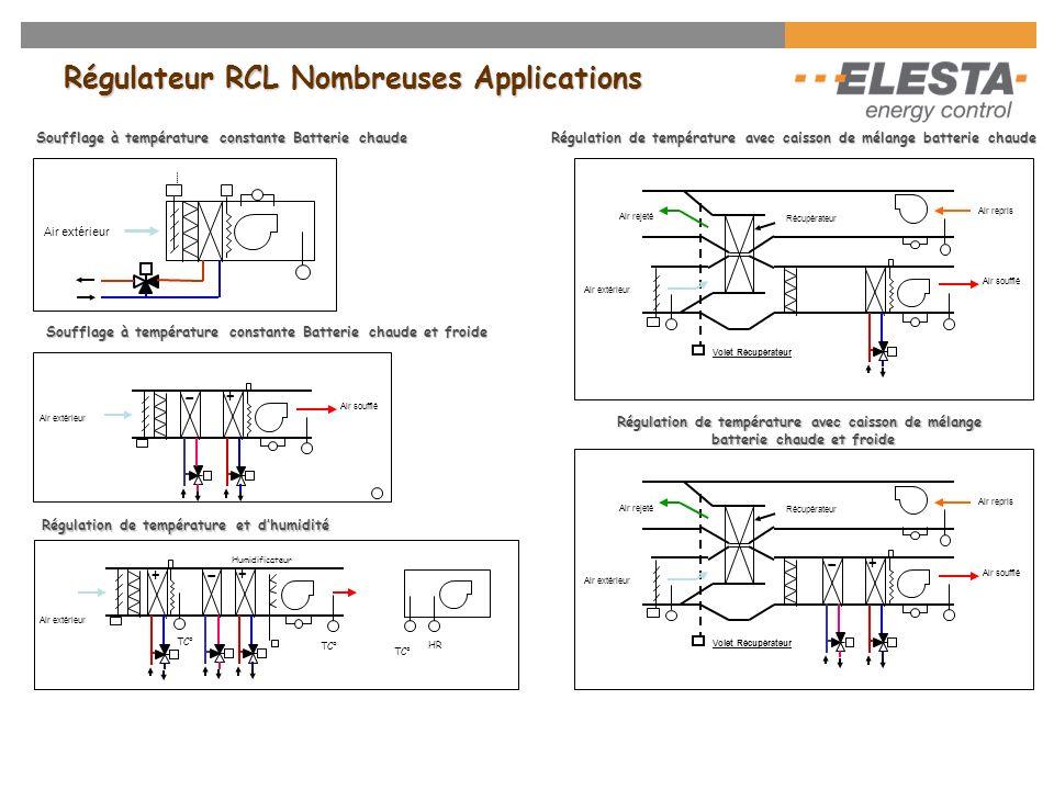 Régulateur RCL Nombreuses Applications
