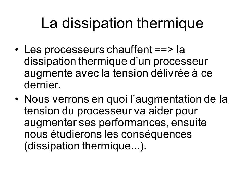 La dissipation thermique