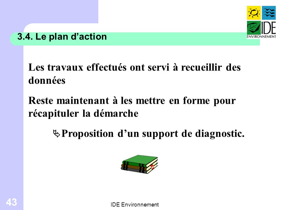 Proposition d'un support de diagnostic.