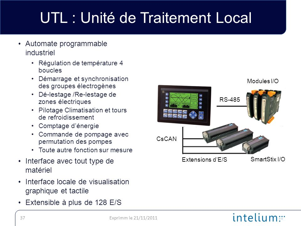 UTL : Unité de Traitement Local