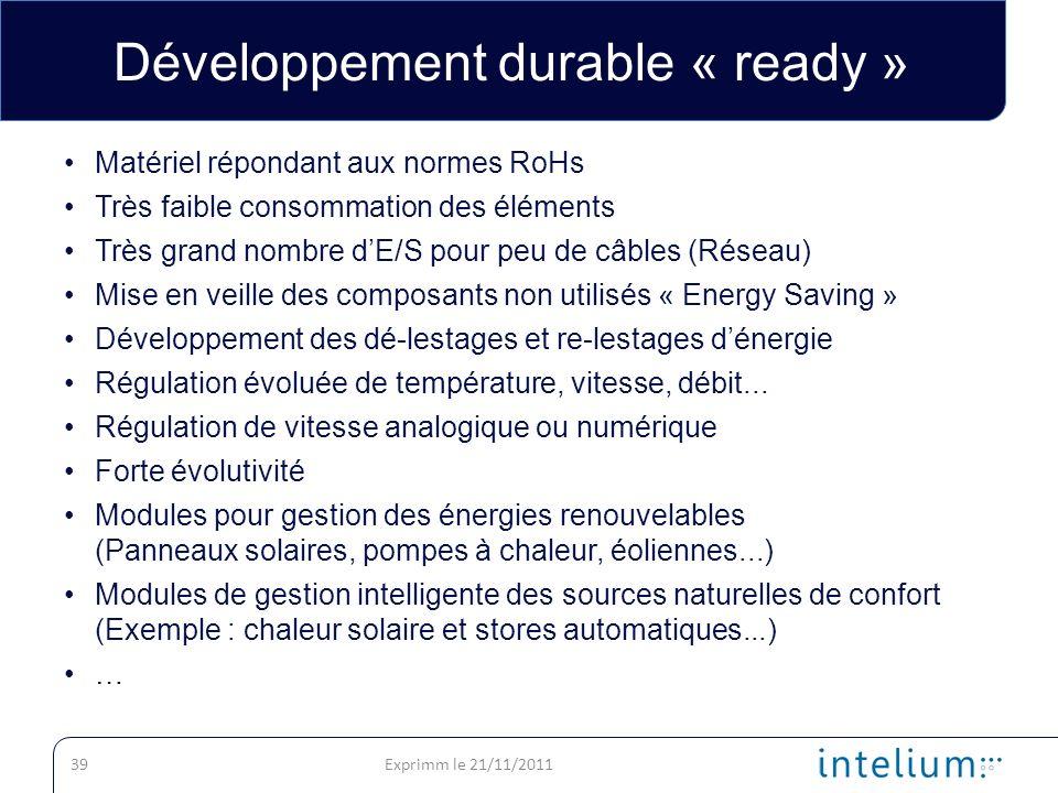 Développement durable « ready »