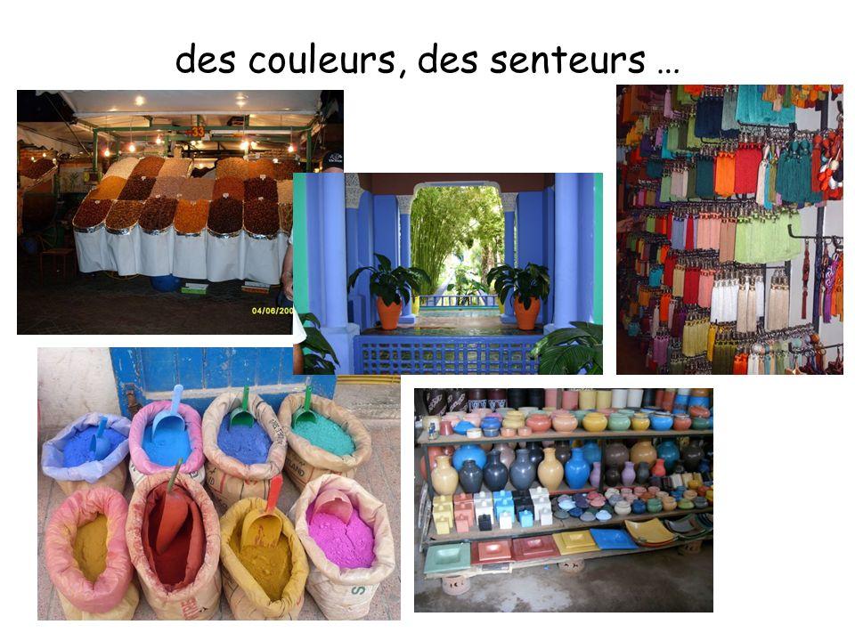 des couleurs, des senteurs …