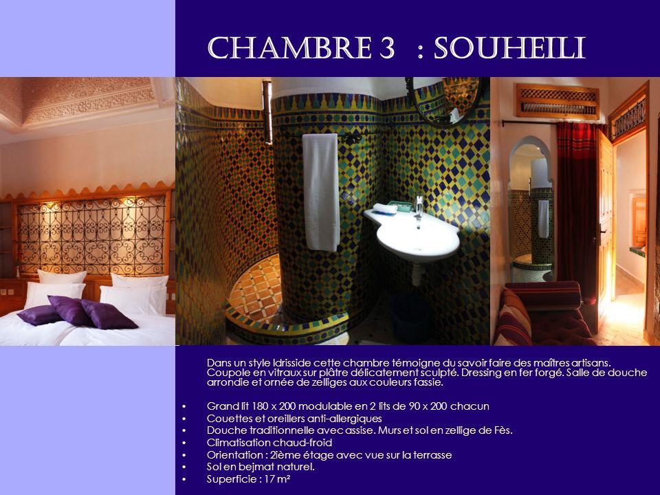 Chambre 3 : SOUHEILI