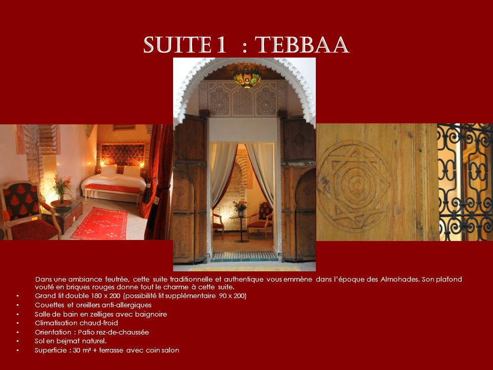 SUITE 1 : TEBBAA