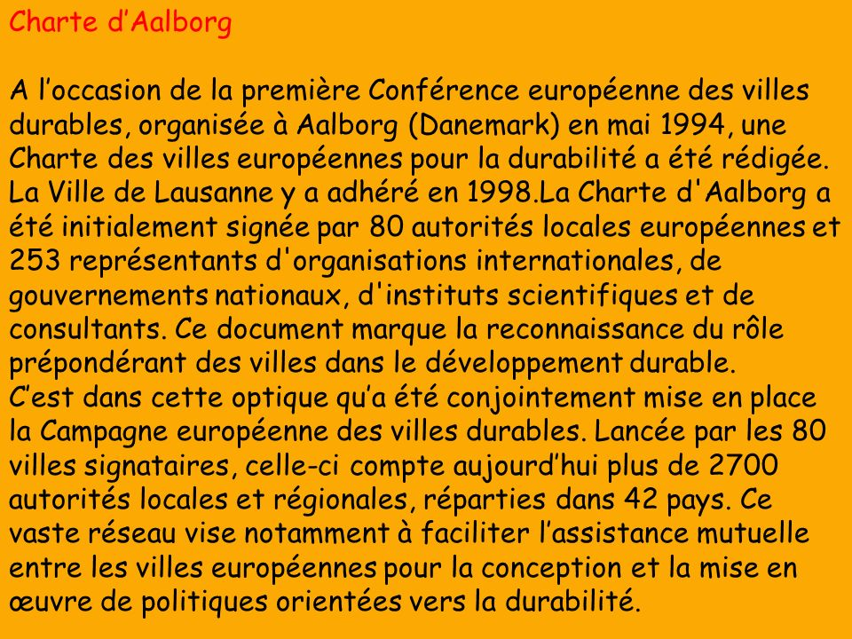 Charte d'Aalborg