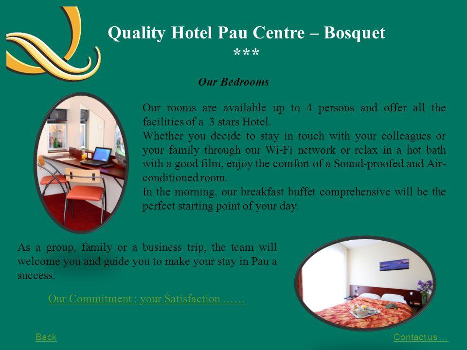 Quality Hotel Pau Centre – Bosquet