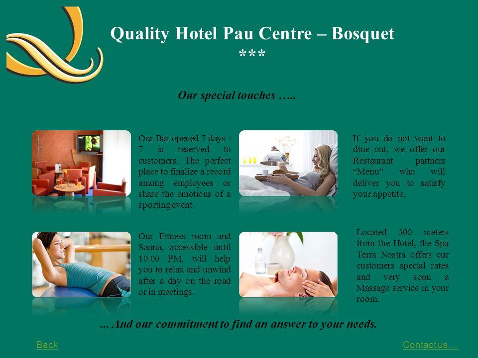 Quality Hotel Pau Centre – Bosquet ***