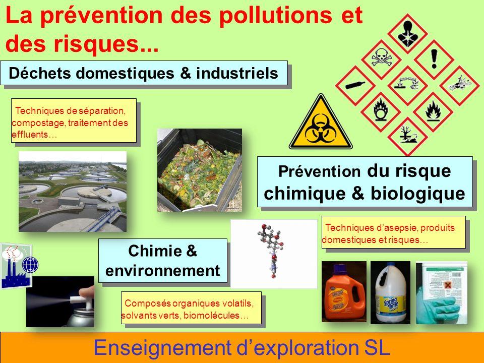 La prévention des pollutions et des risques...