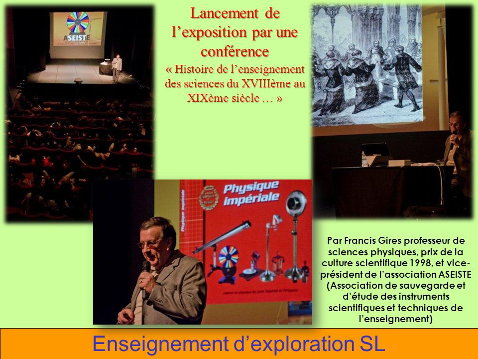 Enseignement d'exploration SL