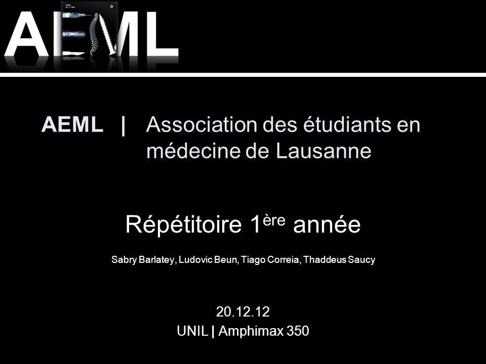 AEML | Association des étudiants en médecine de Lausanne