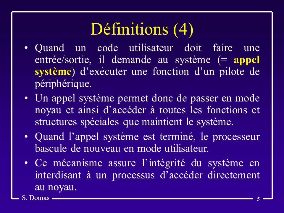 S. Domas Définitions (4)