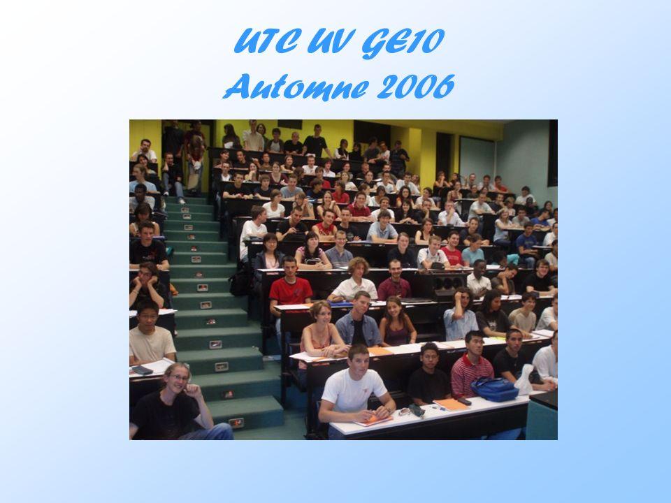 UTC UV GE10 Automne 2006