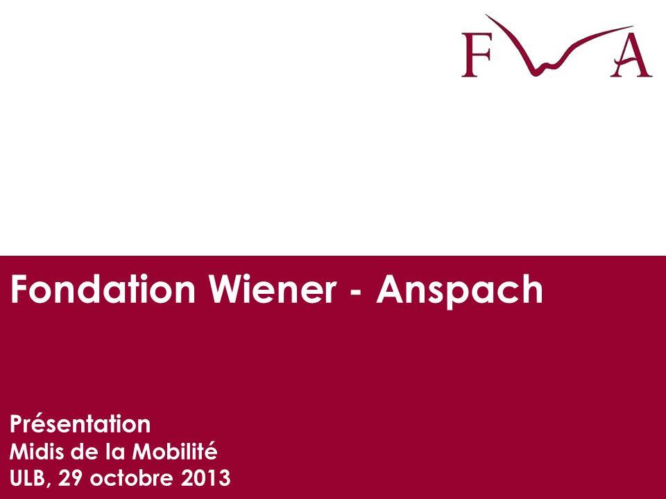 Fondation Wiener - Anspach