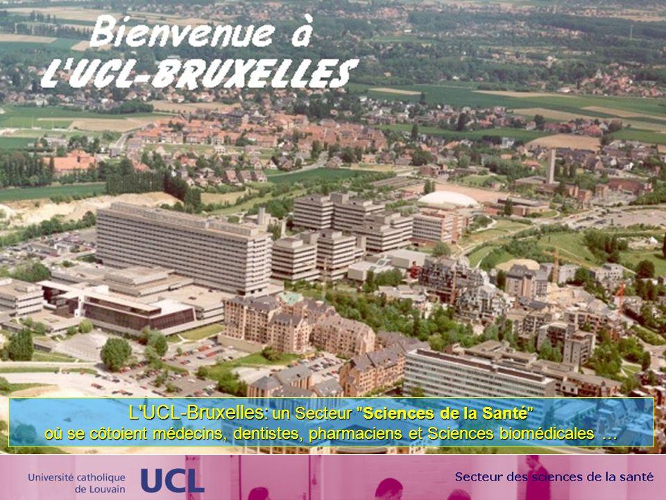 L UCL-Bruxelles: un Secteur Sciences de la Santé