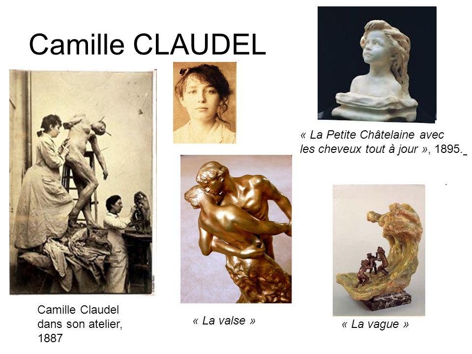 Camille CLAUDEL « La Petite Châtelaine avec