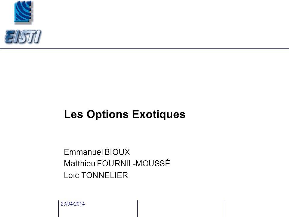 Emmanuel BIOUX Matthieu FOURNIL-MOUSSÉ Loïc TONNELIER