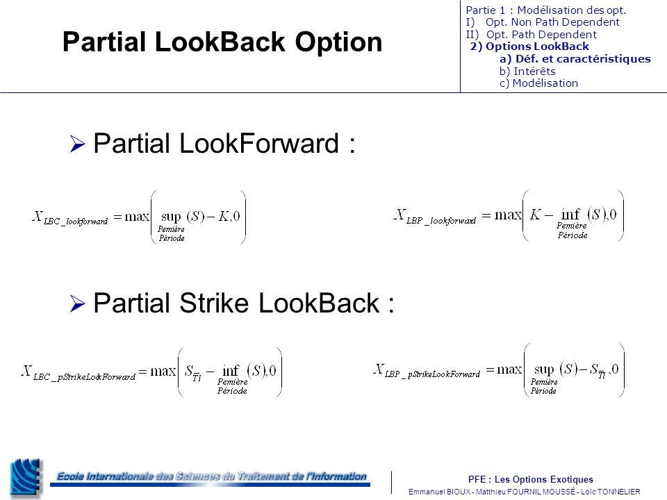 Partial LookBack Option