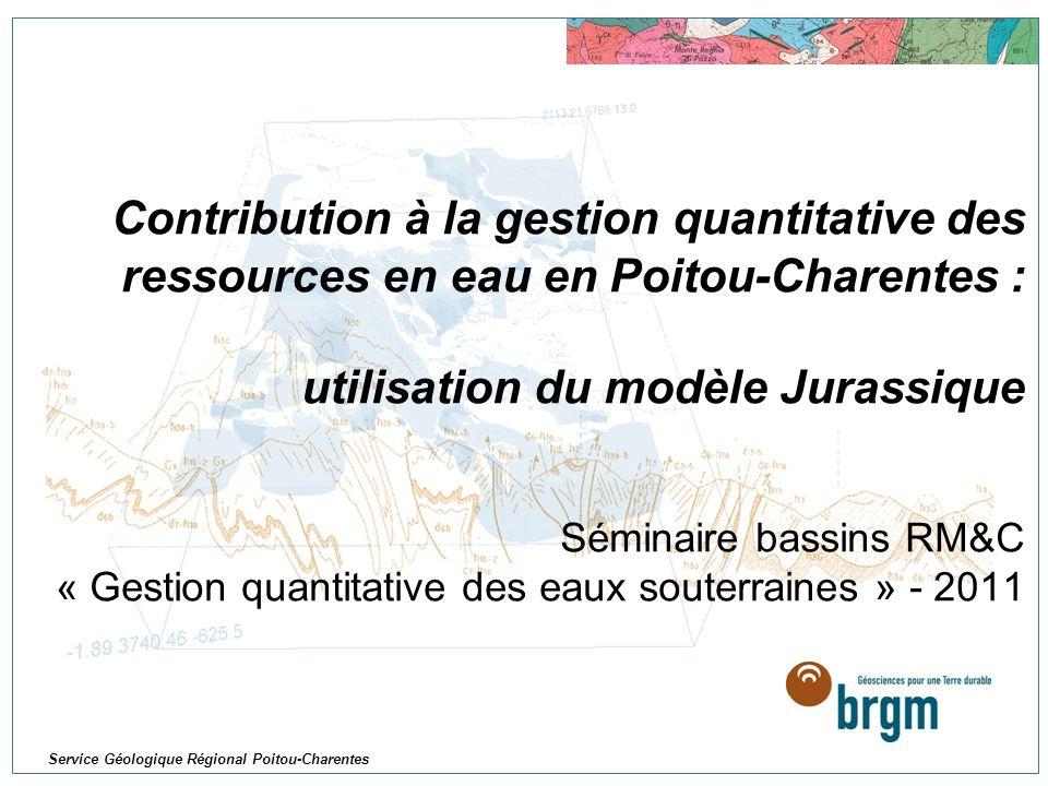 Service Géologique Régional Poitou-Charentes