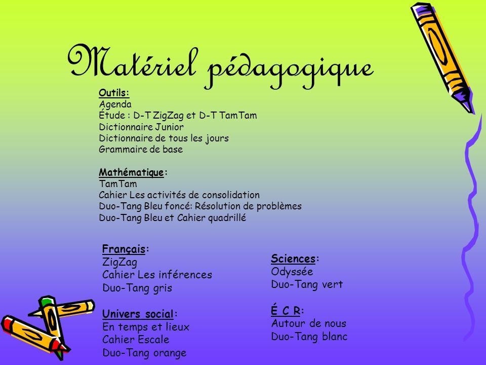 Matériel pédagogique Français: ZigZag Sciences: Cahier Les inférences