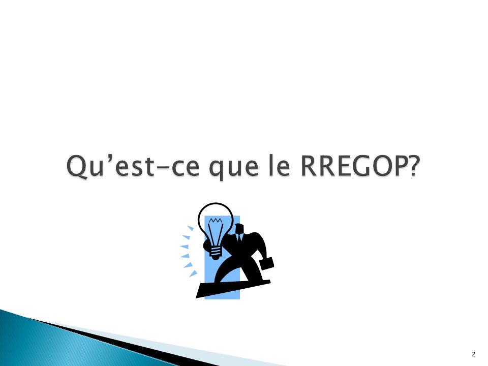 Qu'est-ce que le RREGOP