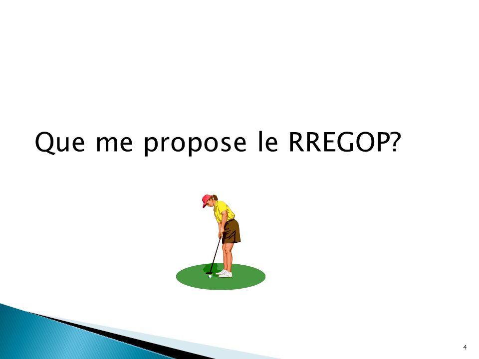 Que me propose le RREGOP