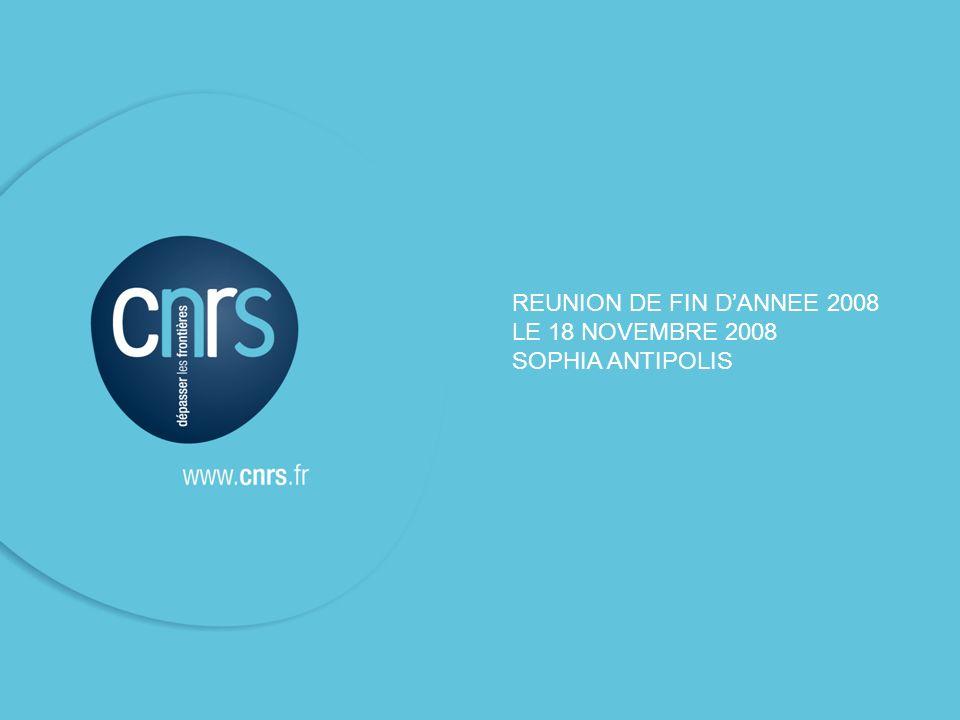REUNION DE FIN D'ANNEE 2008 LE 18 NOVEMBRE 2008 SOPHIA ANTIPOLIS 1