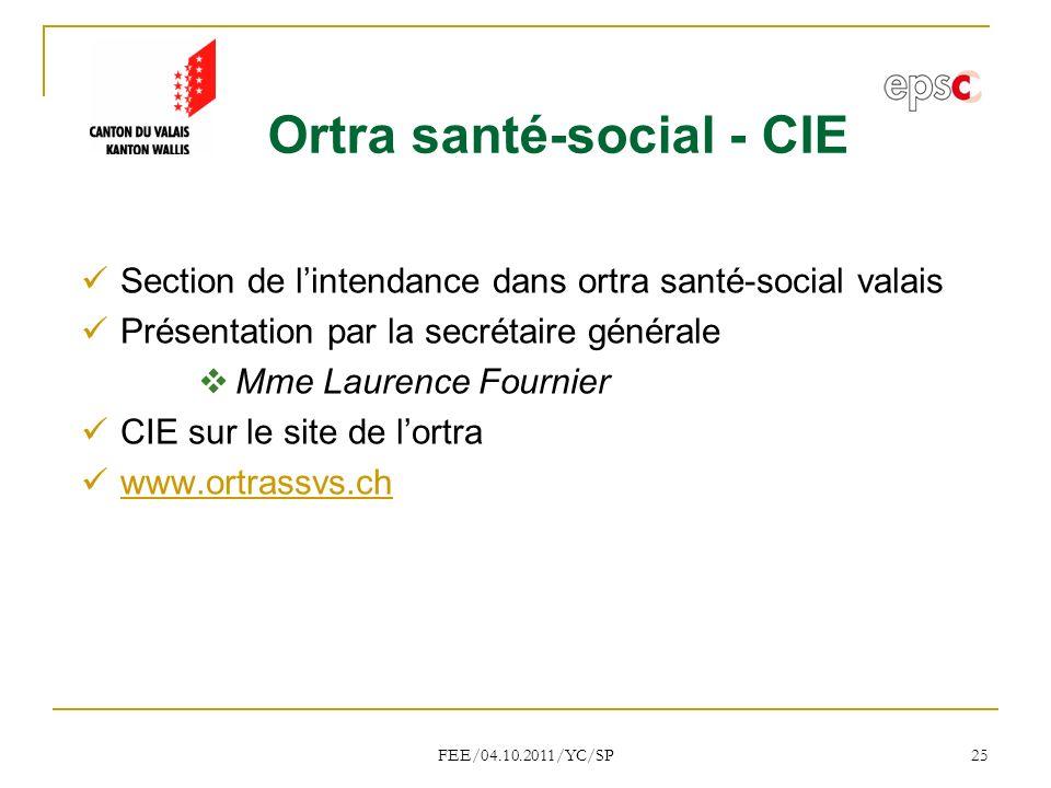 Ortra santé-social - CIE