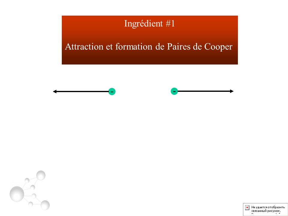 Attraction et formation de Paires de Cooper