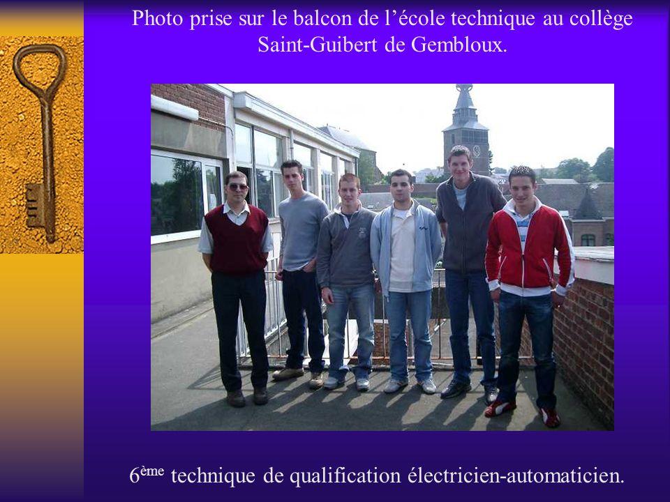 6ème technique de qualification électricien-automaticien.