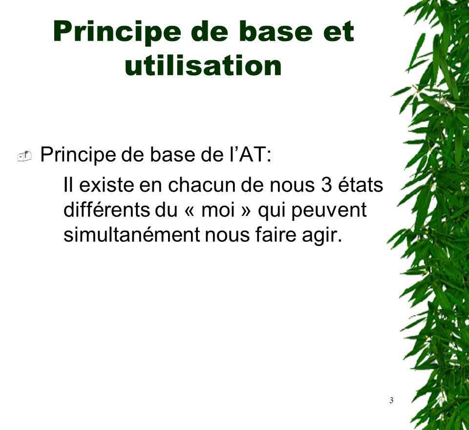 Principe de base et utilisation