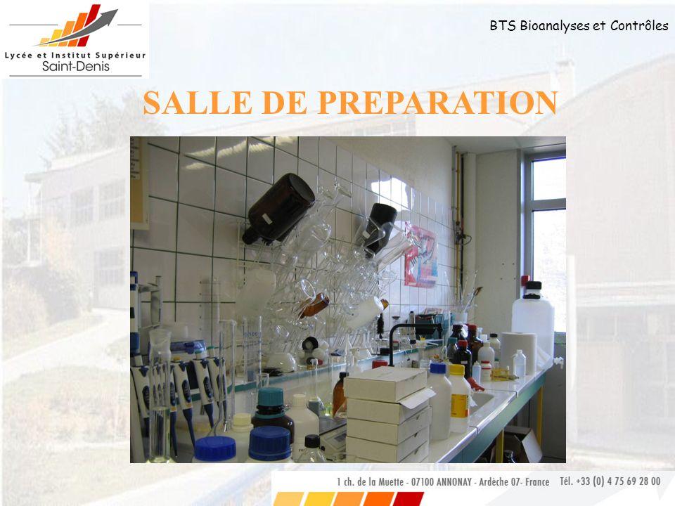 SALLE DE PREPARATION