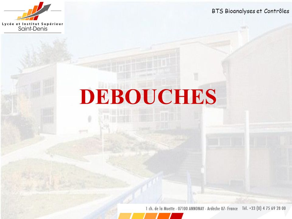 DEBOUCHES