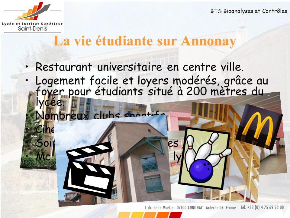La vie étudiante sur Annonay