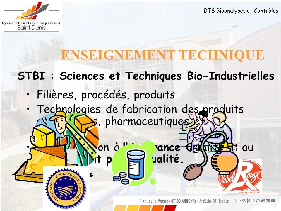 bts bioanalyses et contr u00d4les