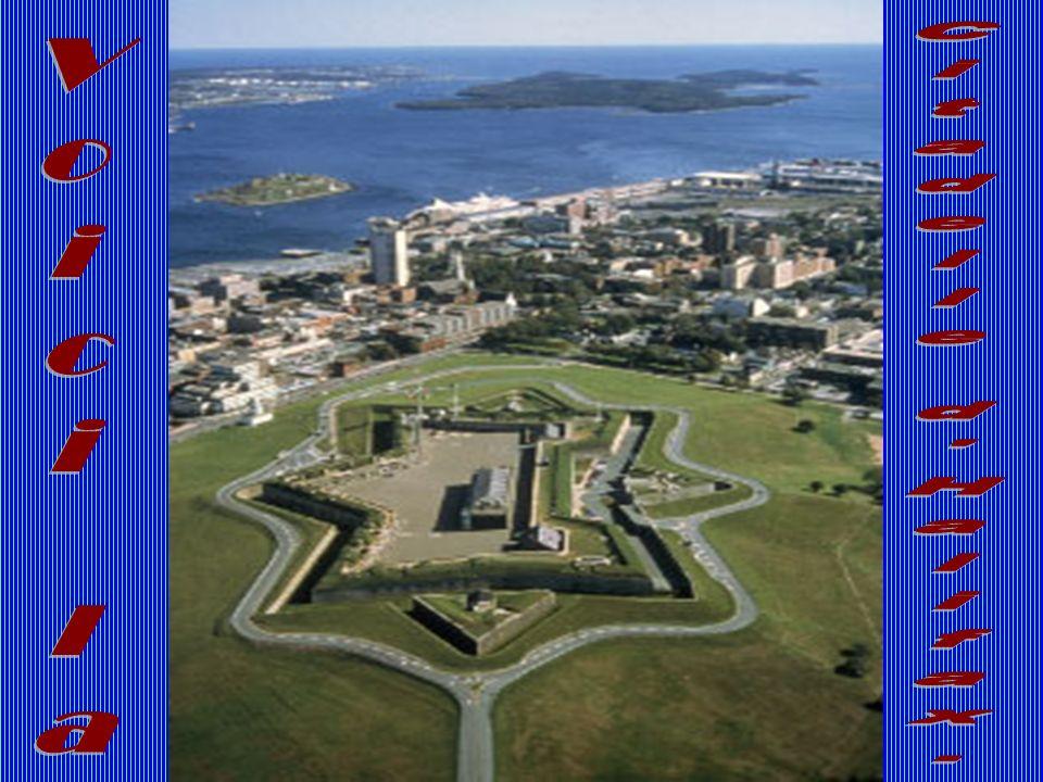 Voici la Citadelle d Halifax.