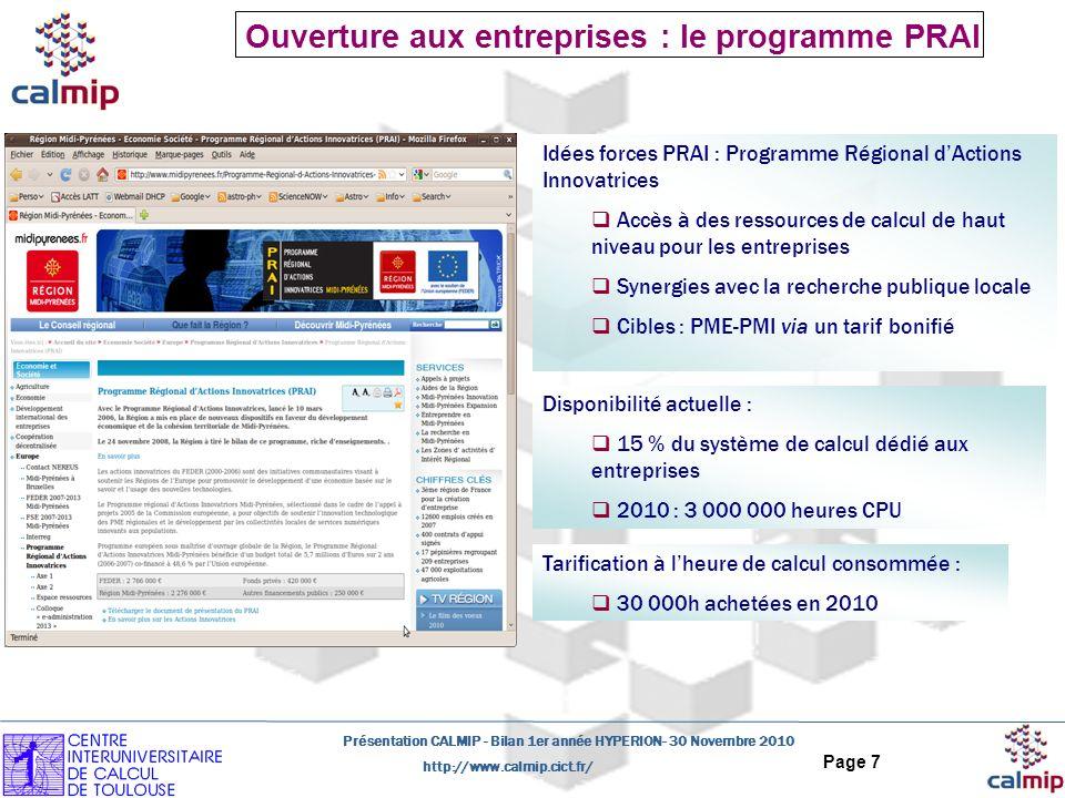 Ouverture aux entreprises : le programme PRAI