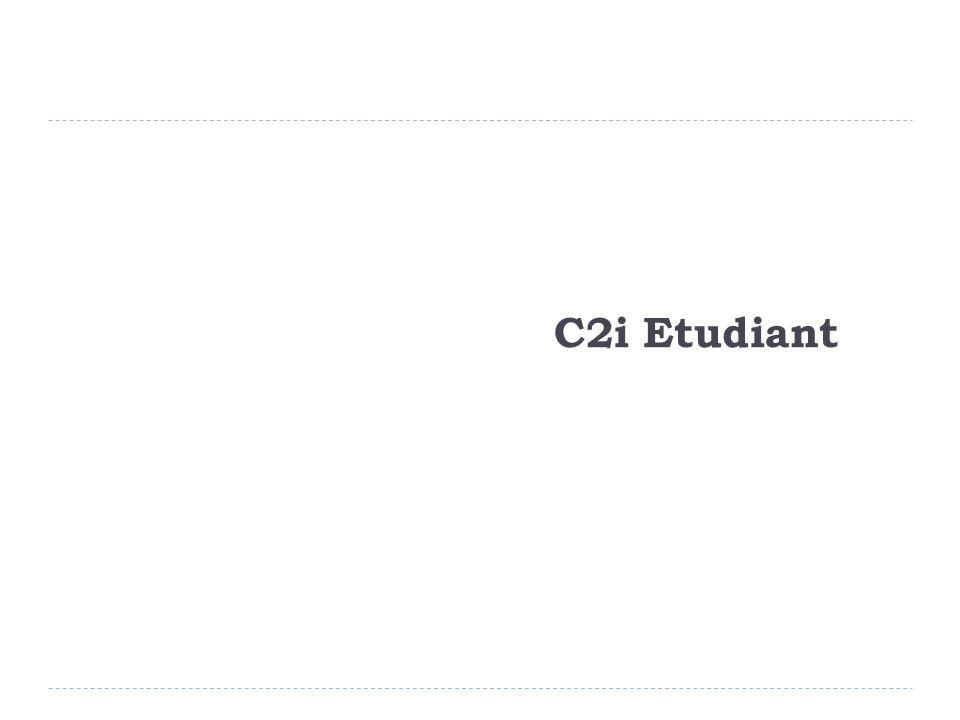 C2i Etudiant