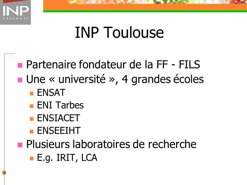 INP Toulouse Partenaire fondateur de la FF - FILS