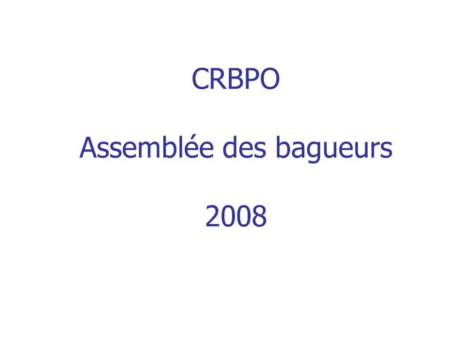 CRBPO Assemblée des bagueurs 2008