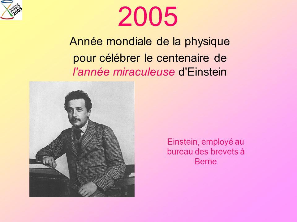 2005 Année mondiale de la physique
