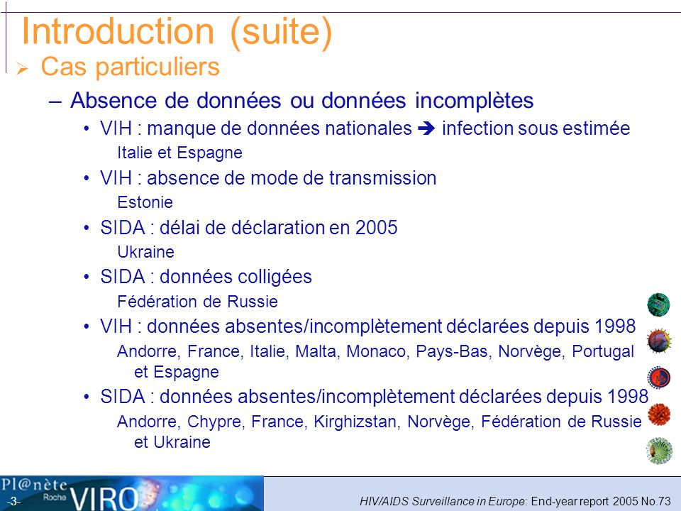 Introduction (suite) Cas particuliers