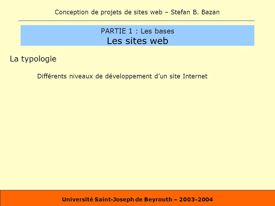 PARTIE 1 : Les bases Les sites web
