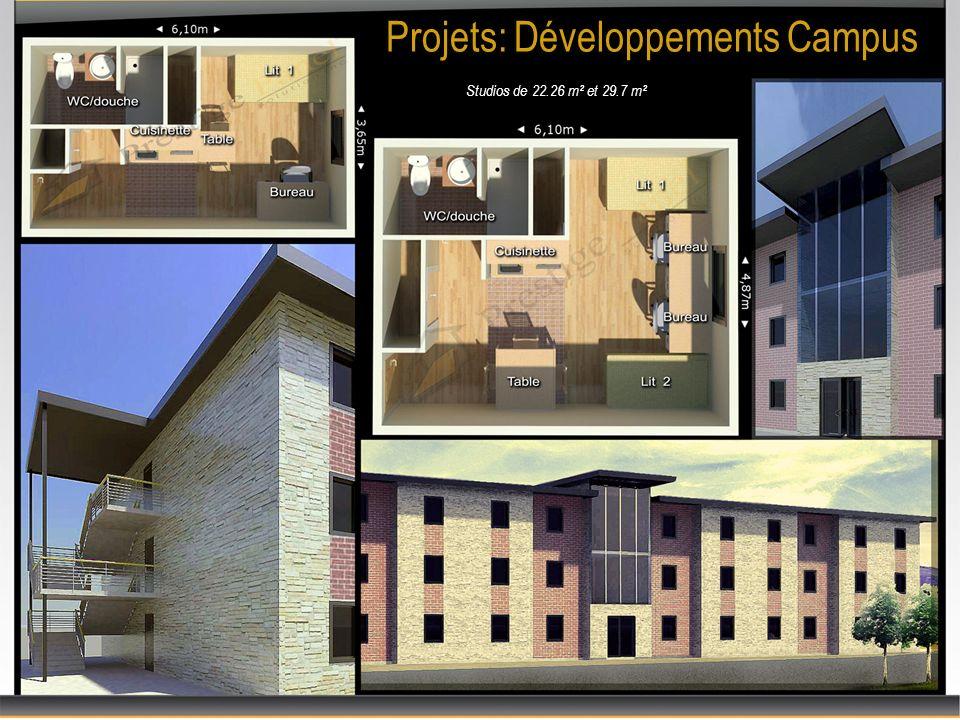 Projets: Développements Campus